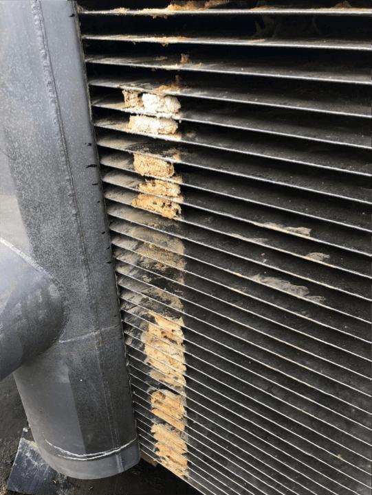 Replacing a top condenser